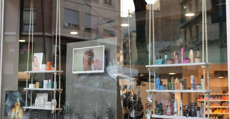interiorismo en peluquerias